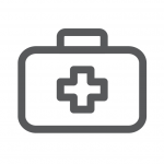 First aid icon outline